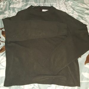 4/$20 Simple Olive Green sweater
